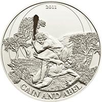 Palau - 2011, 2 dolary - Historie Biblijne - Kain i Abel - monety