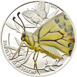 Palau - 2013, 2 dolary - Insekty - Motyl - Butterfly