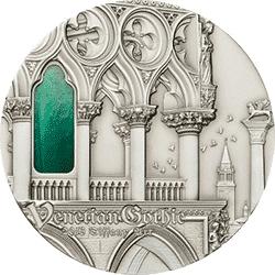 Palau - 2013, 10 dolarów - Tiffany Art IX - Venetian Gothic - monety