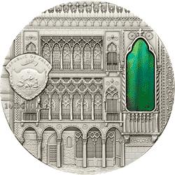 Palau - 2013, 10 dolarów - Tiffany Art IX - Venetian Gothic