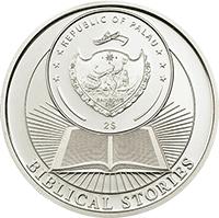 Palau - 2013, 2 dolary - Historie Biblijne - 10 Przykazań - II