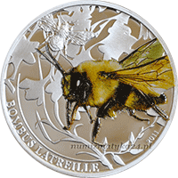 Palau - 2011, 2 dolary - Insekty - Pszczoła - Bumble Bee