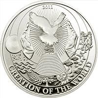 Palau - 2011, 2 dolary - Historie Biblijne - Stworzenie świata - monety