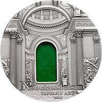 Palau - 2012, 10 dolarów - Tiffany Art VIII - Neoclassicism
