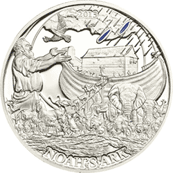 Palau - 2013, 2 dolary - Historie Biblijne - Arka Noego - monety