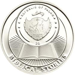 Palau - 2013, 2 dolary - Historie Biblijne - Arka Noego