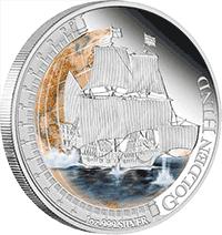 Tuvalu - 2011, 1 dolar - Statki, które zmieniły świat - Golden Hind - monety