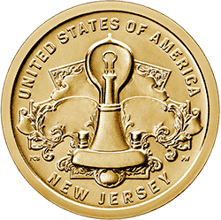 1 dolar 2019 - American Innovation - New Jersey $1 Coin (D)