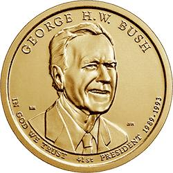 1 dolar 2020 - George H. W. Bush (P) - monety