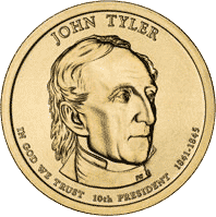 1 dolar 2009 - John Tyler (P) - monety