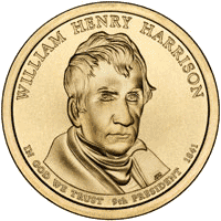 1 dolar 2009 - William Henry Harrison (D)