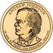 1 dolar 2011 - Andrew Johnson (D) - monety