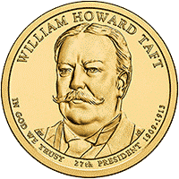 1 dolar 2013 - William Howard Taft (D)