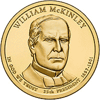 1 dolar 2013 - William McKinley (P)