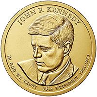 1 dolar 2015 - John F. Kennedy (P)