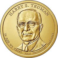 1 dolar 2015 - Harry S. Truman (D)