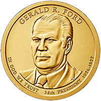 1 dolar 2016 - Gerald R. Ford (D) - monety