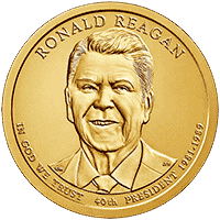1 dolar 2016 - Ronald Reagan (D)