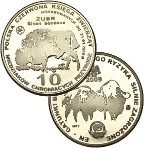 10 miedziaków 2009 - Żubr