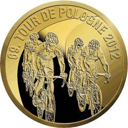 Zestaw 7 monet 2012 - 65.Tour de Pologne - monety