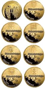 Zestaw 7 monet 2012 - 65.Tour de Pologne