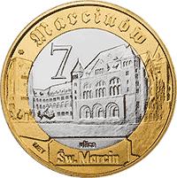 7 Marcinów 2012 - Poznań - monety